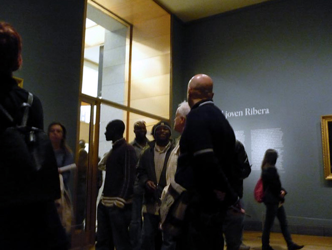 20 hombres africanos - Pierre Valls