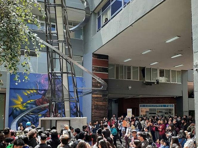 Banquete FAD UNAM Pierre Valls