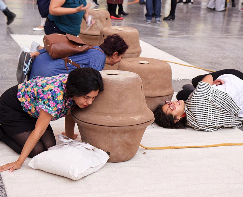 Segunda Bienal de Artes y Diseño UNAM 2020 Pedir lo Imposible Pierre Valls